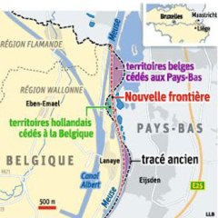 carte frontière