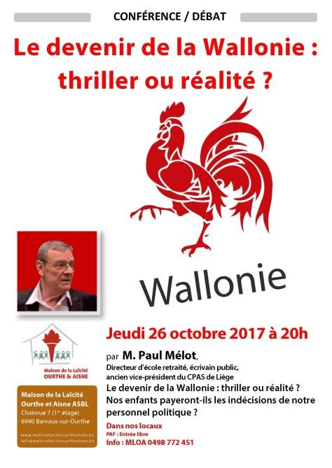conférence Paul Mélot